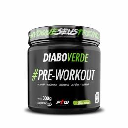 Diabo Verde #Pre-Workout Sabor Maçã Verde 300g - FTW